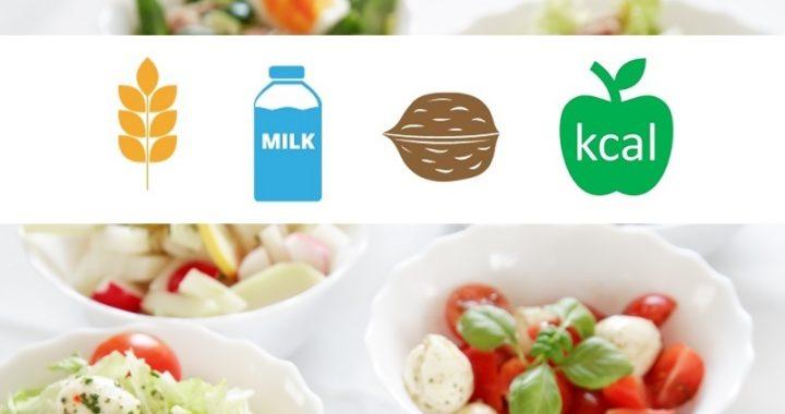 allergen and nutrition information - JAMIX Kitchen Intelligence System
