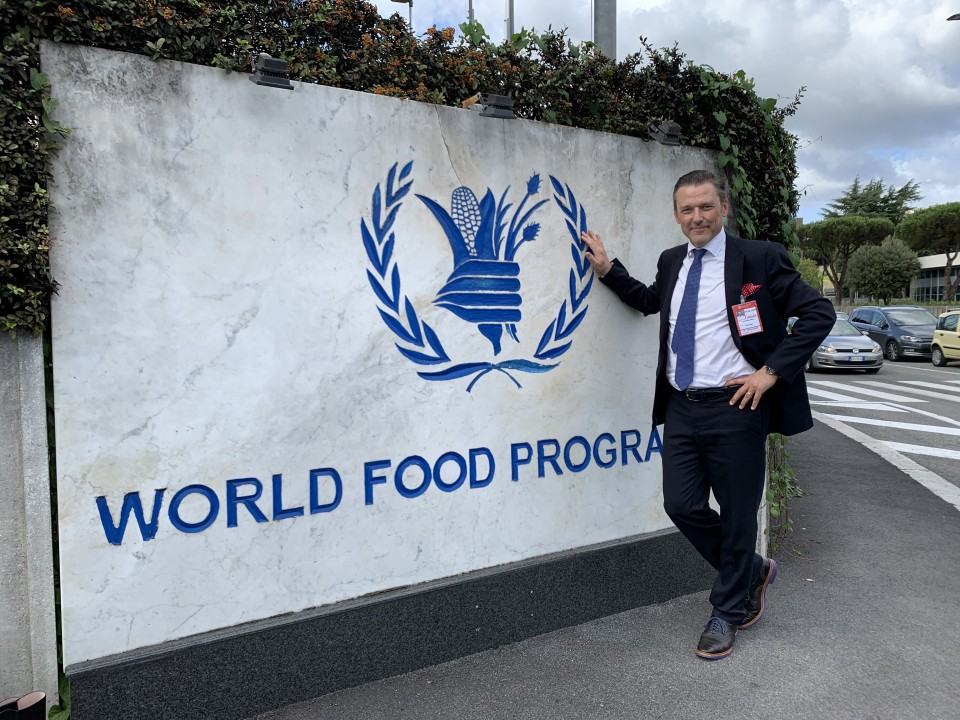 Mikko Jaatinen at the CFS 46 in Rome