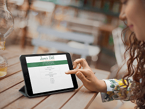 menu online - JAMIX Kitchen Intelligence System