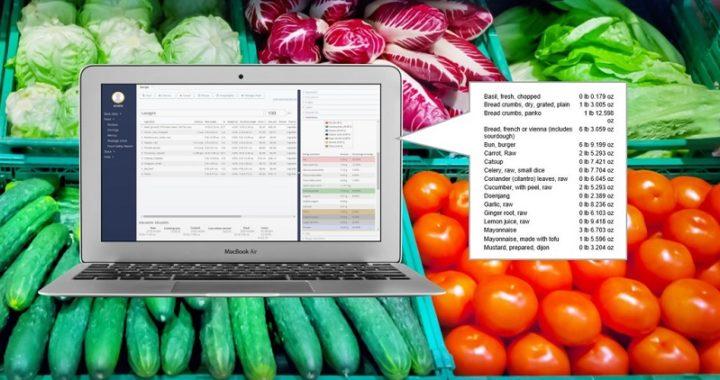 Restaurant Shopping List - JAMIX Kitchen Intelligence System